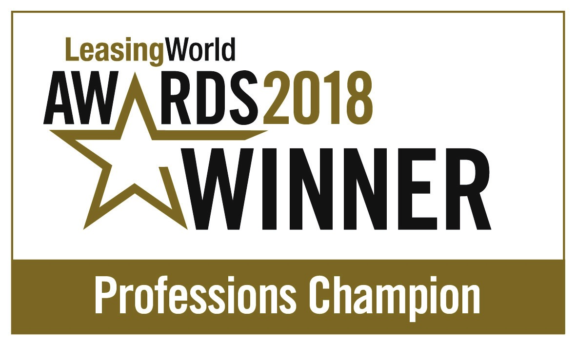 Leasing world awards winner 2018