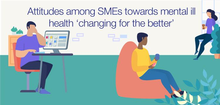 Attitudes among SMEs towards mental health 'changing for the better'